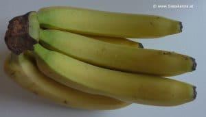 Bananen reif